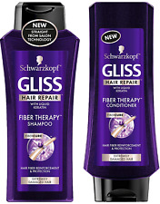 Schwarzkopf Gliss Hair Repair - Fiber Therapy For Extremely Damaged Hair - & Set
