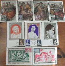 1960's VATICAN MAXI CARDS COLLECTION