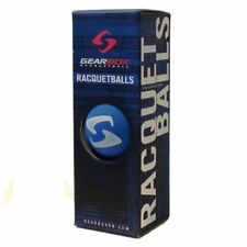 Gearbox Racquetballs - 3 Ball Pack - Electric Blue