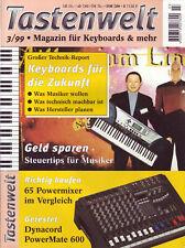 Tastenwelt Ausgabe 03 1999 Praxis-Serie: Noten- und Harmonielehre