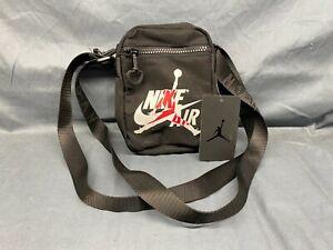 Nike Jordan Shoulder Bag Unisex Black NEW WITH TAGS!