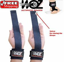 Weight lifting Power Bar Wrist Straps Bodybuilding gym support wraps