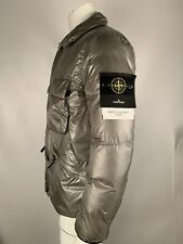 AW18 STONE ISLAND 691540821 SILVER GREY QUANTUM Y DOWN JACKET LARGE RRP£625