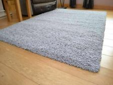 Sienna (RUGSI170) Large Soft Shaggy Floor Rug 120x170cm 5cm - Gray