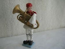 toy soldier- Greek Evzone- tuba- Aohna