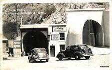 1940s Bingham Copperfield Tunnel Upper Portal Utah RPPC Real photo postcar 382