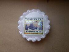 Yankee Candle USA MEGA RARE SIberian Silver Fir Wax Tart
