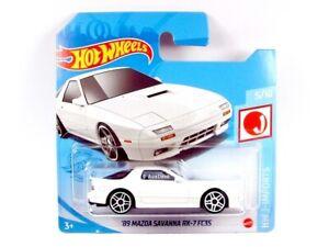 2021 HOT WHEELS / #176 1989 Mazda Savanna RX-7 FC3S (White) / HW J-IMPORTS.