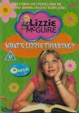 LIZZIE McGUIRE WHATS LIZZIE THINKING? 5 EPISODES DISNEY CHANNEL DVD NEW SEALED