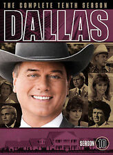 Dallas - The Complete Tenth Season (DVD, 2009, 3-Disc Set) Never Used