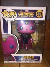 Funko POP VISION Marvel Series Avengers Infinity War 307 Vinyl Figure Toy Doll