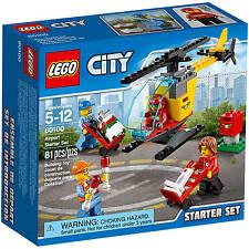 NEW LEGO City Airport Airport Starter Set Building Set 60100 ORIGINAL