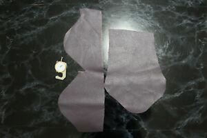 Leather Scraps Purple Orange Leather offcuts Remnants Sheets Goatskin Sheep