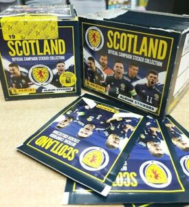 Panini Scotland Football Euro 2021 Official Stickers: Choose 10, 25, 50 or packs