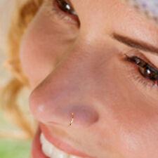 22 Gauge Gold Filled Nose Hoop, Tragus Hoop, Cartilage Hoop, 7mm Inner Diameter