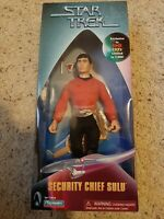 Star Trek Security Chief Sulu, Kay Bee Toys   9 inch action figure. New unopened
