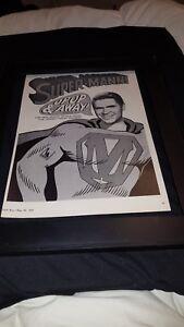 Johnny Mann Singers Up Up & Away  Rare Original Promo Poster Ad Framed!
