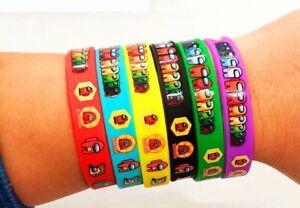 Among Us Silicone Rubber Wristband 6 Colours Friendship Bracelet Kids UK
