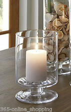2x portacandele Uragano Lanterna Vaso Di Cristallo STORM Matrimonio caratteristica principale Pilastro