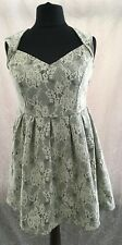 Size 18 Simply Be Cream Lace Dress