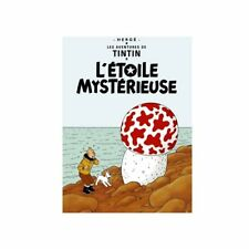 TINTIN & L'ETOILE MYSTERIEUSE POSTER NEW THE SHOOTING STAR