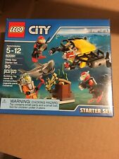 LEGO City 60091 Deep Sea Starter Set - NEW - SEALED - RETIRED