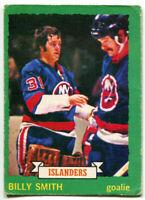 1973-74 OPC Billy Smith Rookie Card #142 New York Islanders