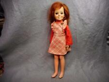 "VINTAGE IDEAL 18"" CRISSY DOLL # GH-18 RED HAIR 1969 N/R"