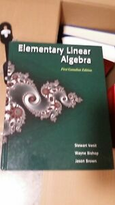 Elementary Linear Algebra by Venit, Bishop, and Brown