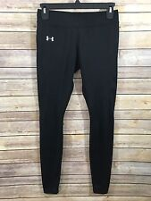 Under Armour Women's Fitted Leggings SZ XS Black Cold Gear Athletic Ankle