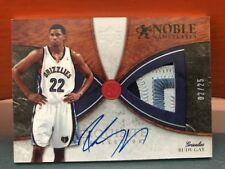 2006-07 Upper Deck Exquisite Noble Nameplates Rudy Gay #25