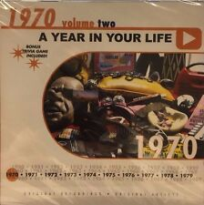 A YEAR IN YOUR LIFE 1970 VOL. 2 - 10 TRACK MUSIC CD - BRAND NEW - G338