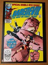 New ListingDaredevil 181 Bullseye Elektra Foggy Marvel Comic Poster by Frank Miller