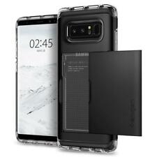 Galaxy Note 8 Case Crystal Wallet Black