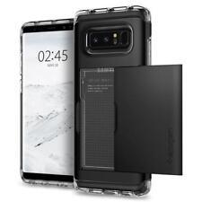 Galaxy Note 8 Case Crystal Wallet Black