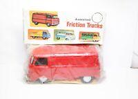 Telsalda / Hoda Plastic Commer 3/4 Ton Chassis Van - Mint Unopened 1960s Rare