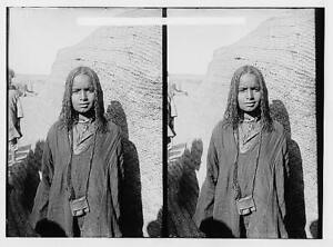 Bisharin girl,Egypt,Egyptian Characters,Africa,American Colony,Beja Nomads 5142