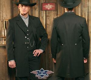 Stars und Stripes  Oldstyle Old Style Gehrock Wyatt Sakko Western Style Größe L