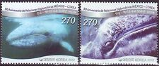 Korea - SC 2377 Gray Whale 2v (Joint issued Mexico) 2012