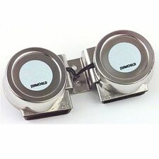 12v Stainless Steel Twin Compact Horn for Boat / Marine / Sailing