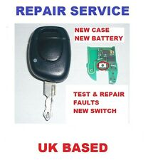 Vauxhall Movano 1 button Remote Key Fob Repair Service Switch with a  New Case