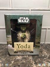 Lucas Film Star Wars Yoda Figurine 2010 NIB Sealed  (ID#4929)