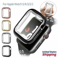 Screen Protector TPU Case Cover For Apple Watch iWatch 5 4 3 2 1 38/40/42/44 mm