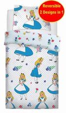 Disney Alice au Pays Merveilleux Simple Housse Couette Set Filles Enfant Blanc