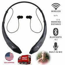 Bluetooth Headphones Wireless Neckband Headset for iOs Samsung Motorola Blu Lg
