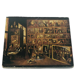 "Vtg Springbok 475+ Jigsaw Puzzle ""Archduke Leopold Wilhelm Reviews His Gallery"""