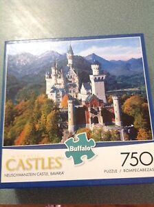 Jigsaw Puzzle 750 Piece Buffalo Games Neuschwanstein Castle Bavaria