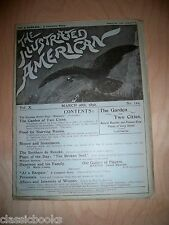 1892 March 26th  Illustrated American Magazine  MUSEUM FILED  VF/NM