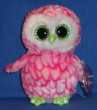 TY BEANIE BOOS BOO'S - BUBBLY the OWL - CLAIRE'S EXCLUSIVE - MINT TAGS