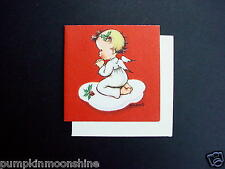 Unused 1947 Eva Harta Ars Sacra Xmas Greeting Card Precious Little Angel Praying